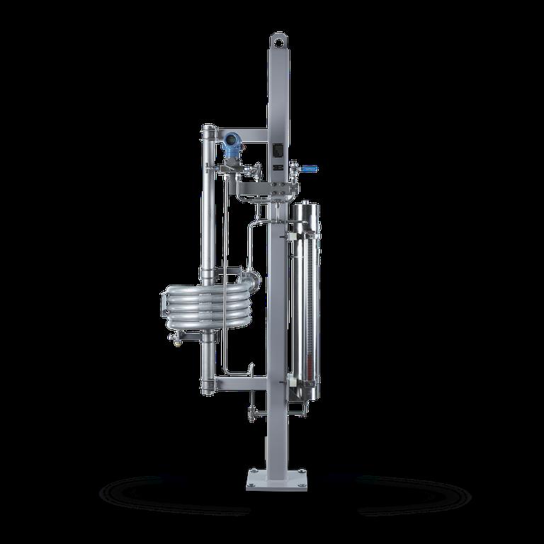 SPC6 Barrier fluid system  with piston accumulator